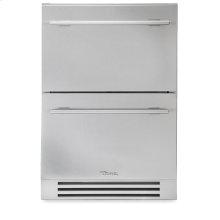 24 Inch Stainless Steel Undercounter Refrigerator Drawer - Stainless Steel