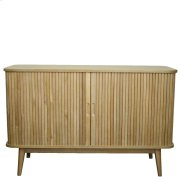 Madison Low Cabinet w/ 2 Drawers , Brushed Smoke Product Image