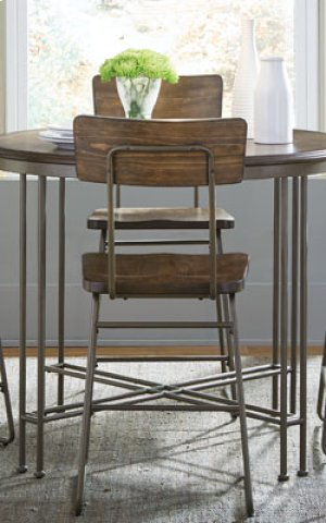 STANDARD 11601-11604 OSLO Counter Height Table With 4 Chairs