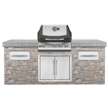 Built-In ULTRA CHEF® 405 with Rear Burner - DISCONTINUED