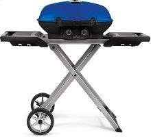 TravelQ 285X with Scissor Cart Blue , Propane