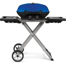 TravelQ 285X with Scissor Cart , Blue , Propane
