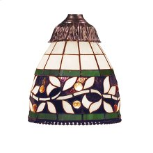 English Ivy 1-Light 97716M Glass Only
