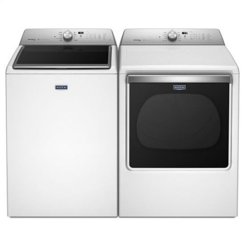 HOT BUY CLEARANCE!!! Maytag® 8.8 cu. ft. Extra-Large Capacity Gas Dryer with Steam Refresh Cycle - White