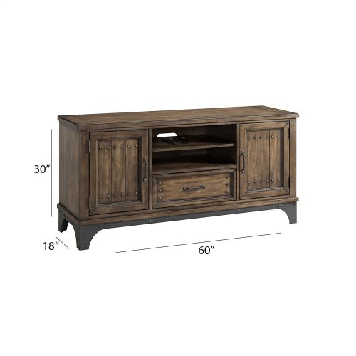 "Living - Whiskey River 60"" Console"