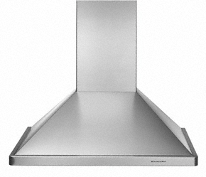 "Wall-Mount 600 CFM Exhaust Rating 30"" Width Canopy"