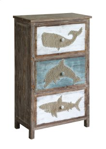 Nantucket Rustic Shark Chest