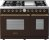 Additional Range DECO 48'' Classic Brown matte, Bronze 6 gas, griddle and 2 gas ovens