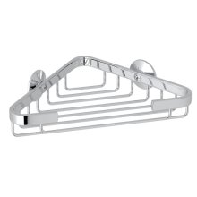 Polished Chrome Wall Mount Small Corner Basket