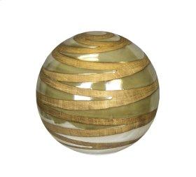 Orb Decorative Object, Tan