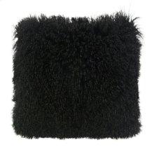 Tibetan Sheep Black Large Pillow