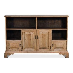 Sarreid Ltd Hall Bookcase Lionskin Finish