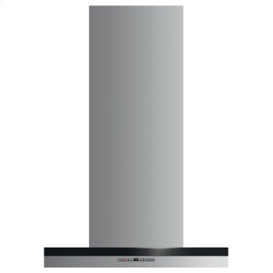 "Fisher & PaykelWall Range Hood, 24"", Box Chimney"