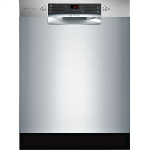 Bosch800 Series Dishwasher 24'' Stainless steel SGE68X55UC