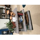 Nature's Edge 3 Shelf Bookcase-brushed Grey Product Image