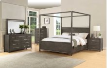 "Katy Queen Canopy Bed Slats 62""x2""x20"""