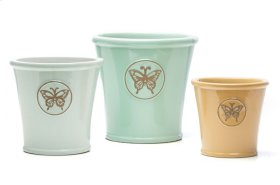 Shasta Planter, mixed colors - Set of 3