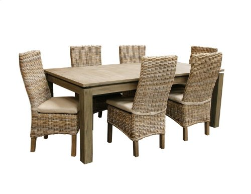 Dining Table, Available in Grey Wash or Royal Oak Finish.