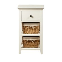 Bathroom Storage Accent with Baskets