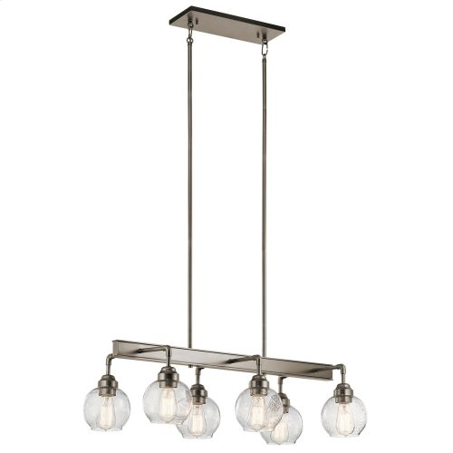 Niles Collection Niles 6 Light Linear Chandelier AP