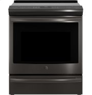 """GE Profile™ Series 30"""" Slide-In Front Control Induction and Convection Range Product Image"""