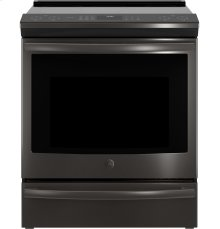 "GE Profile Series 30"" Slide-In Front Control Induction and Convection Range"