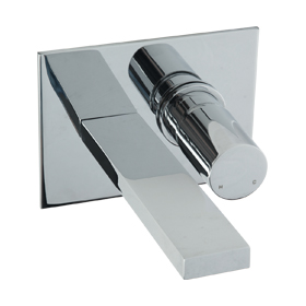 In Wall Lav Faucet - Chrome