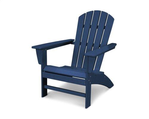 White Nautical Adirondack Chair