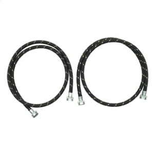 Amana5' Industrial Grade Nylon Braid Fill Hoses - 2 Pack