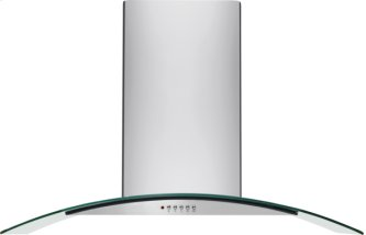 Frigidaire 30'' Glass Canopy Wall-Mount Hood