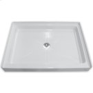 Alcove Shower Bases - White Product Image