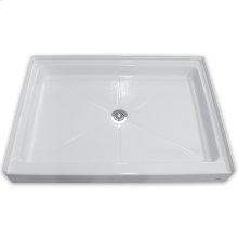 Alcove Shower Bases - White