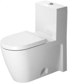 White Nbsp; One-piece Toilet, Water Saving 6-liter Flush