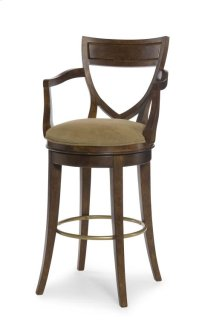 Shield Back Swivel Bar Stool Product Image
