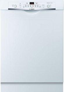 24'' Recessed Handle Dishwasher Ascenta Series- White SHE3ARF2UC