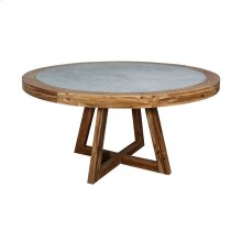 Orchard Teak and Concrete Table
