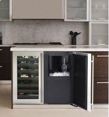 "Stainless Right-hand, no pump 36"" Custom Refrigerator / Ice Machine"