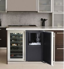 "Stainless Right-hand, with pump 36"" Custom Refrigerator / Ice Machine"