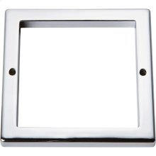 Tableau Square Base 3 Inch - Polished Chrome
