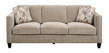 Sofa Granite W/2 Accent Pillows