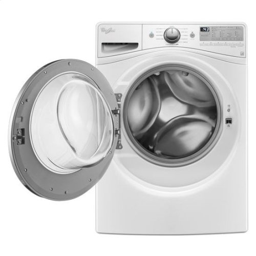 Whirlpool® 4.5 cu. ft. Front Load Washer with 12-Hour FanFresh® option - White
