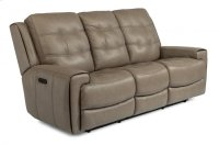 Wicklow Leather Power Reclining Sofa with Power Headrests Product Image