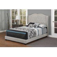 Light Grey Linen Full Bed