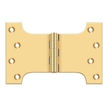"4"" x 6"" Hinge - PVD Polished Brass"