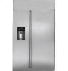 "Monogram® 48"" Built-In Side-by-Side Refrigerator with Dispenser"