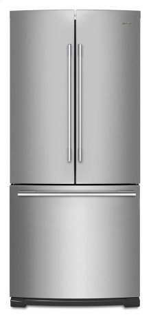 30-inch Wide Contemporary Handle French Door Refrigerator - 20 cu. ft.