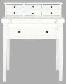 Abigail Fold Down Desk - White