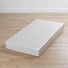 Baby crib \u0026 toddler mattress - Gray and White