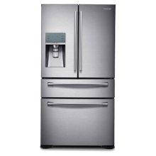 "36"" Wide, 30 cu. ft. 4-Door Refrigerator with FlexZone Drawer (Stainless Steel)"