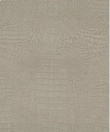 Kim Alligator Fabric Beige